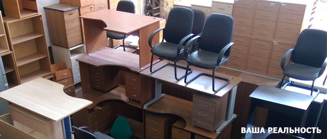 Склад с мебелью
